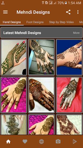 Mehndi Designs (offline) screenshot 1