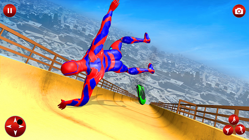 Superhero Robot Speed: Super Hero Game screenshot 1