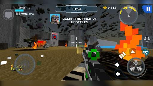 Cube Wars Battle Survival 7 تصوير الشاشة