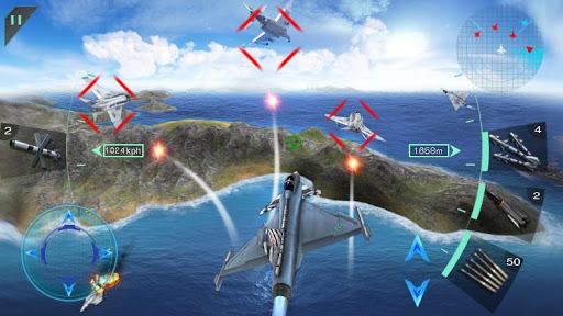 Pejuang langit 3D - Sky Fighters screenshot 3