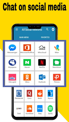 All social media apps 2020 2 تصوير الشاشة