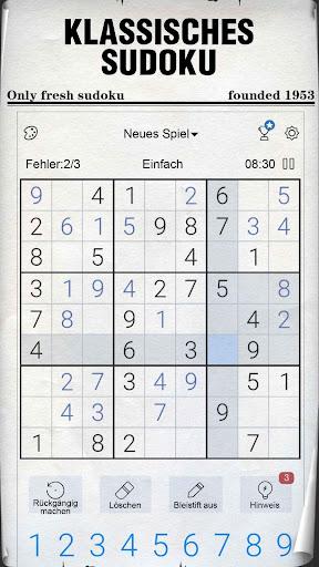 Sudoku - Kostenlose klassische Sudoku Puzzles screenshot 1