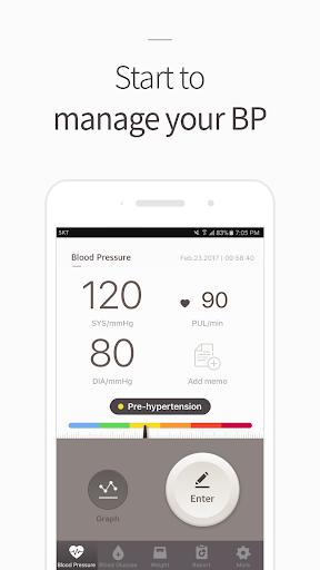 Blood Pressure(BP) Diary screenshot 1