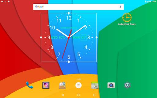 Analog Clock Live Wallpaper-7 screenshot 9