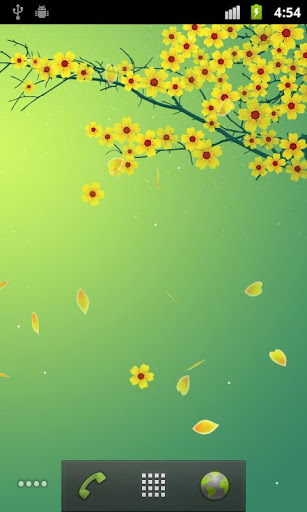Sakura Live Wallpaper screenshot 2