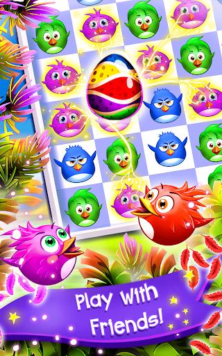 Birds Pop Mania: Match 3 Games Free 5 تصوير الشاشة