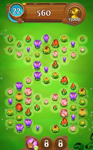 Blossom Blast Saga 18 تصوير الشاشة