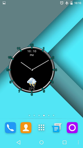 Super Clock Widget [Free] скриншот 2