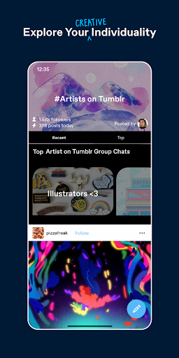 Tumblr - Home of Fandom screenshot 2