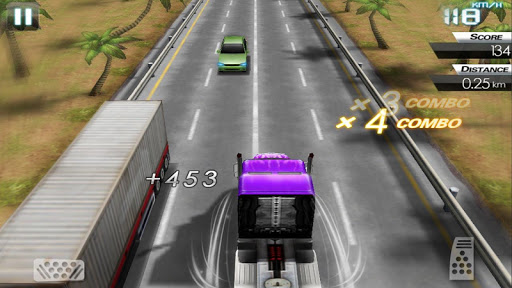Mini Crazy Traffic Highway Race screenshot 9