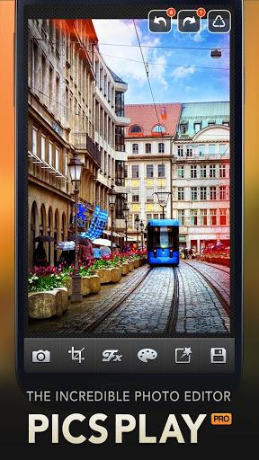 PicsPlay - Photo Editor 1 تصوير الشاشة