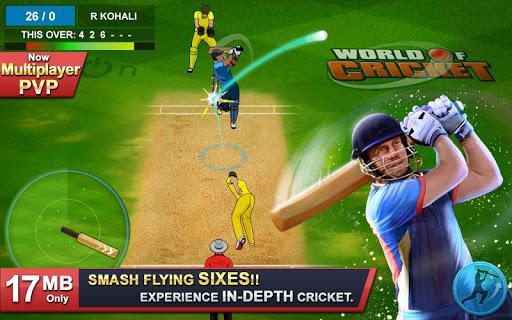 World of Cricket : World Cup 2019 screenshot 1