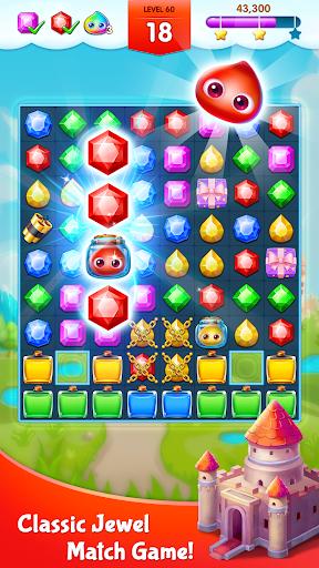 أسطورة الجواهر - المباراة 3 اللغز 1 تصوير الشاشة
