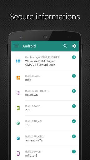 Developer (Material design) screenshot 2