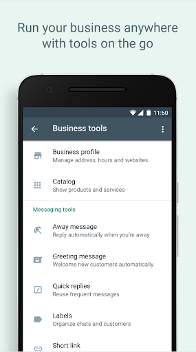 WhatsApp Business screenshot 5