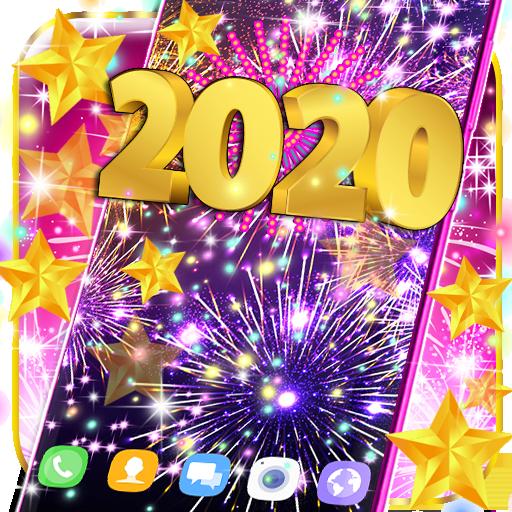 2020 live wallpaper icon