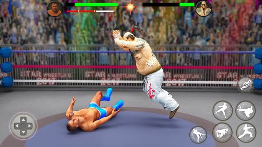 بطولة المصارعة العالمية لبطولة الفرق 5 تصوير الشاشة
