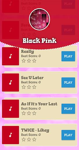 Black Pink Piano Game 2 تصوير الشاشة