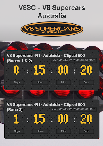 Motorsport Racing Calendar 6 تصوير الشاشة