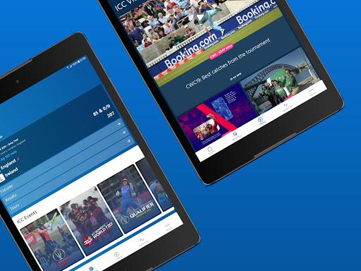 ICC - Live International Cricket Scores & News 10 تصوير الشاشة