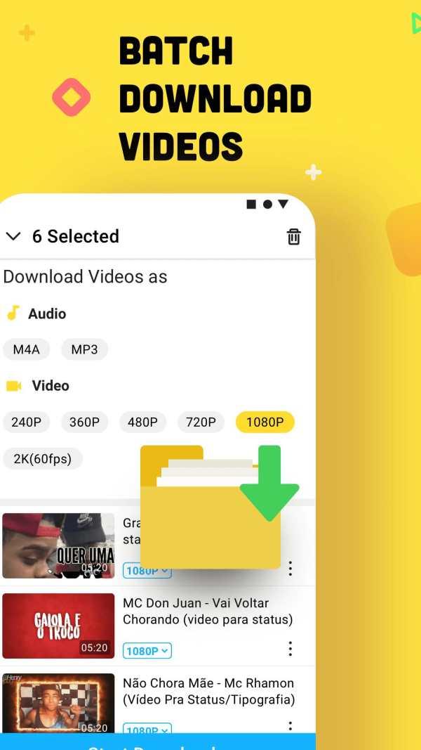 YouTube Downloader and MP3 Converter Snaptube screenshot 1
