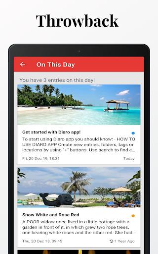 Diaro - Diary, Journal, Mood Tracker with Lock screenshot 22