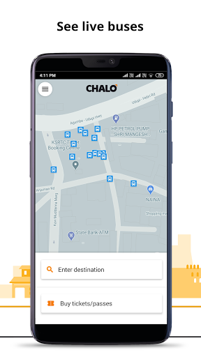Chalo - Live bus tracking App screenshot 1