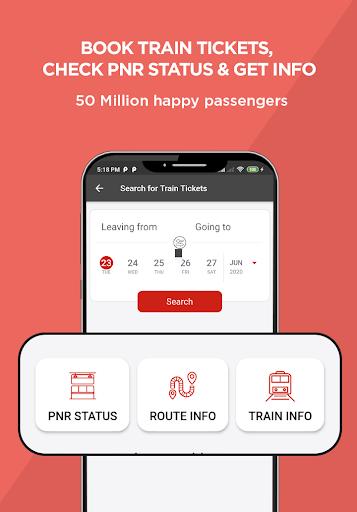 AbhiBus - Bus Booking and IRCTC Train Ticket App 3 تصوير الشاشة
