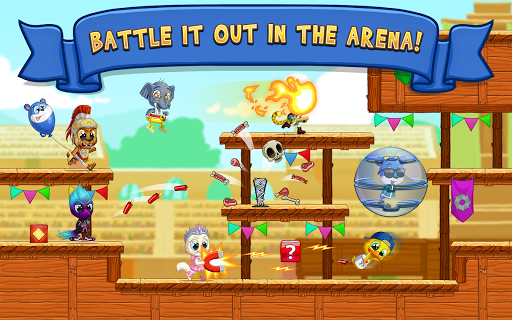 Fun Run 3 - Multiplayer Games screenshot 11