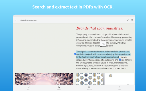 Adobe Scan: PDF Scanner with OCR, PDF Creator 13 تصوير الشاشة
