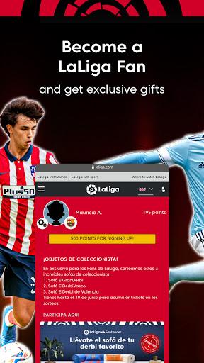 La Liga Official App - Live Soccer Scores & Stats screenshot 5