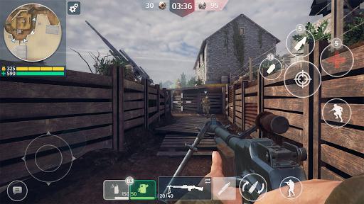 World War 2 - Battle Combat (FPS Games) screenshot 5