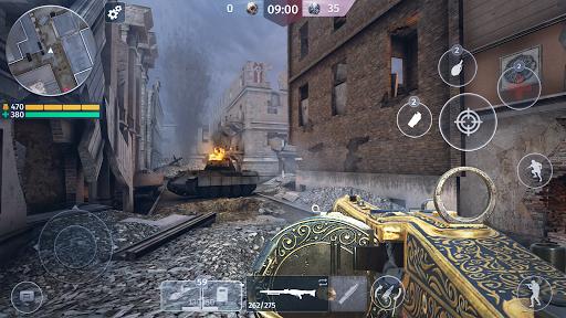 World War 2 - Battle Combat (FPS Games) screenshot 6