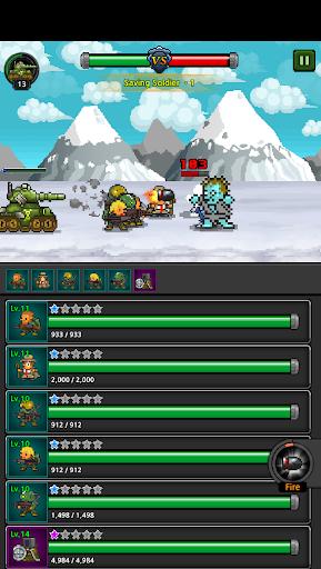 Grow Soldier - Idle Merge game 4 تصوير الشاشة