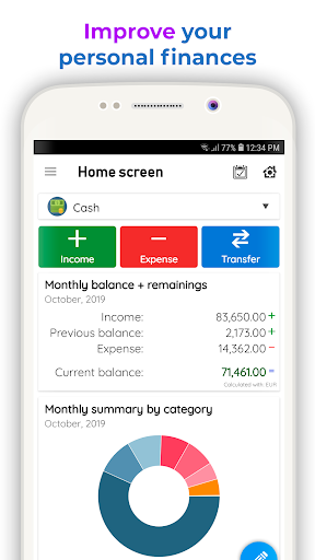 Daily Expenses 3: Personal finance screenshot 1