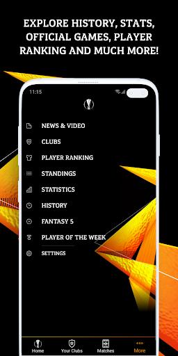 UEFA Europa League football: live scores & news screenshot 5