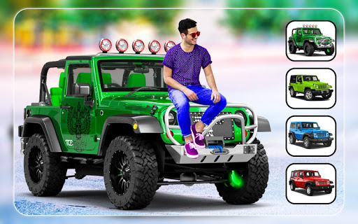 New Jeep Photo Editor - Photo Frames 5 تصوير الشاشة