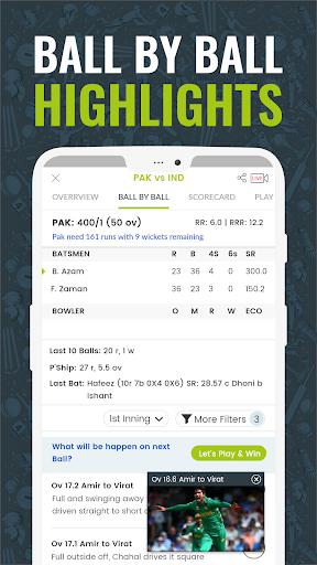 Cricingif - PSL 5 Live Cricket Score & News 3 تصوير الشاشة