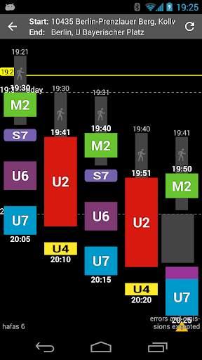 Offi - Journey Planner 3 تصوير الشاشة