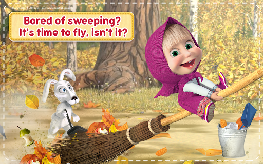 Masha and the Bear: House Cleaning Games for Girls screenshot 16