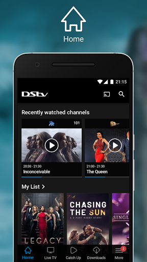 DStv screenshot 1
