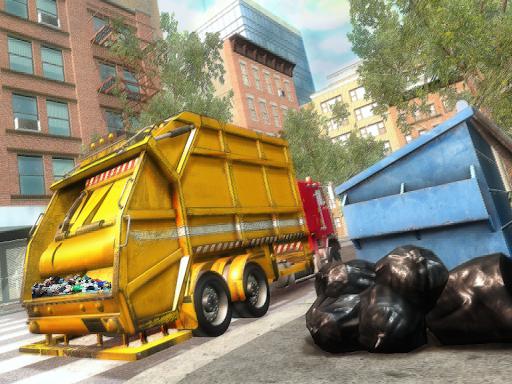 Garbage Truck Driving Simulator - Truck Games 2020 screenshot 8