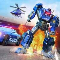 Police Robot Car Games - Transforming Robot Games on 9Apps