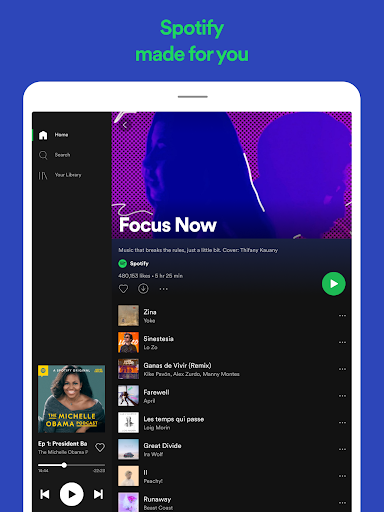 Spotify: Listen to new music and play podcasts screenshot 12