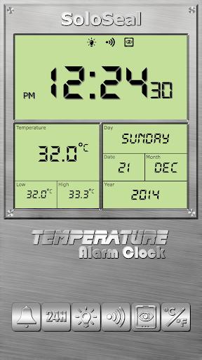 درجة الحرارة منبه 2 تصوير الشاشة