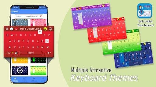 Urdu English Voice Keyboard - Urdu Keyboard screenshot 3