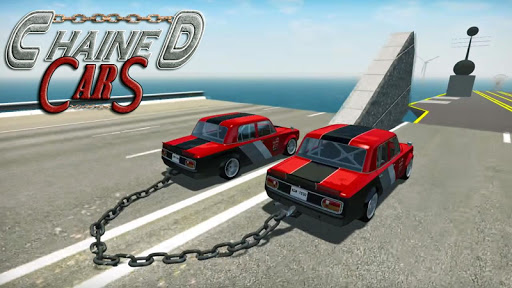 Chained Cars Against Ramp 3D screenshot 5