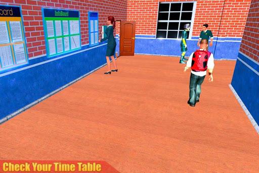 الظاهري مدرسة ثانوية المعلم 3D 2 تصوير الشاشة