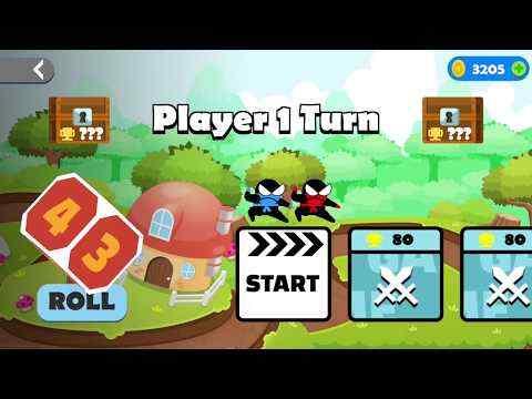 Jumping Ninja Party 2 Player Games screenshot 1
