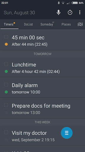 PlanMe Reminder - calendar and tasks list screenshot 4